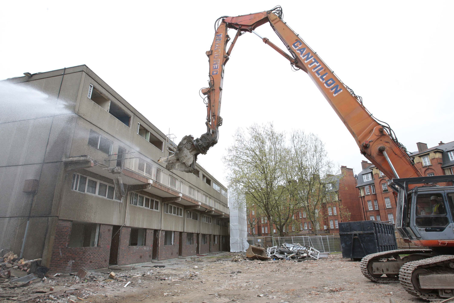 Aylesbury Estate demolition underway