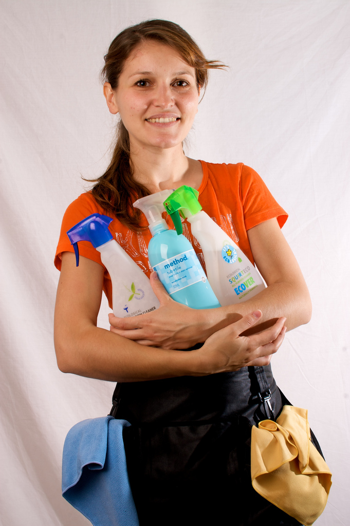 Ekaterina Belcheva - eco-friendly cleaning entrepreneur