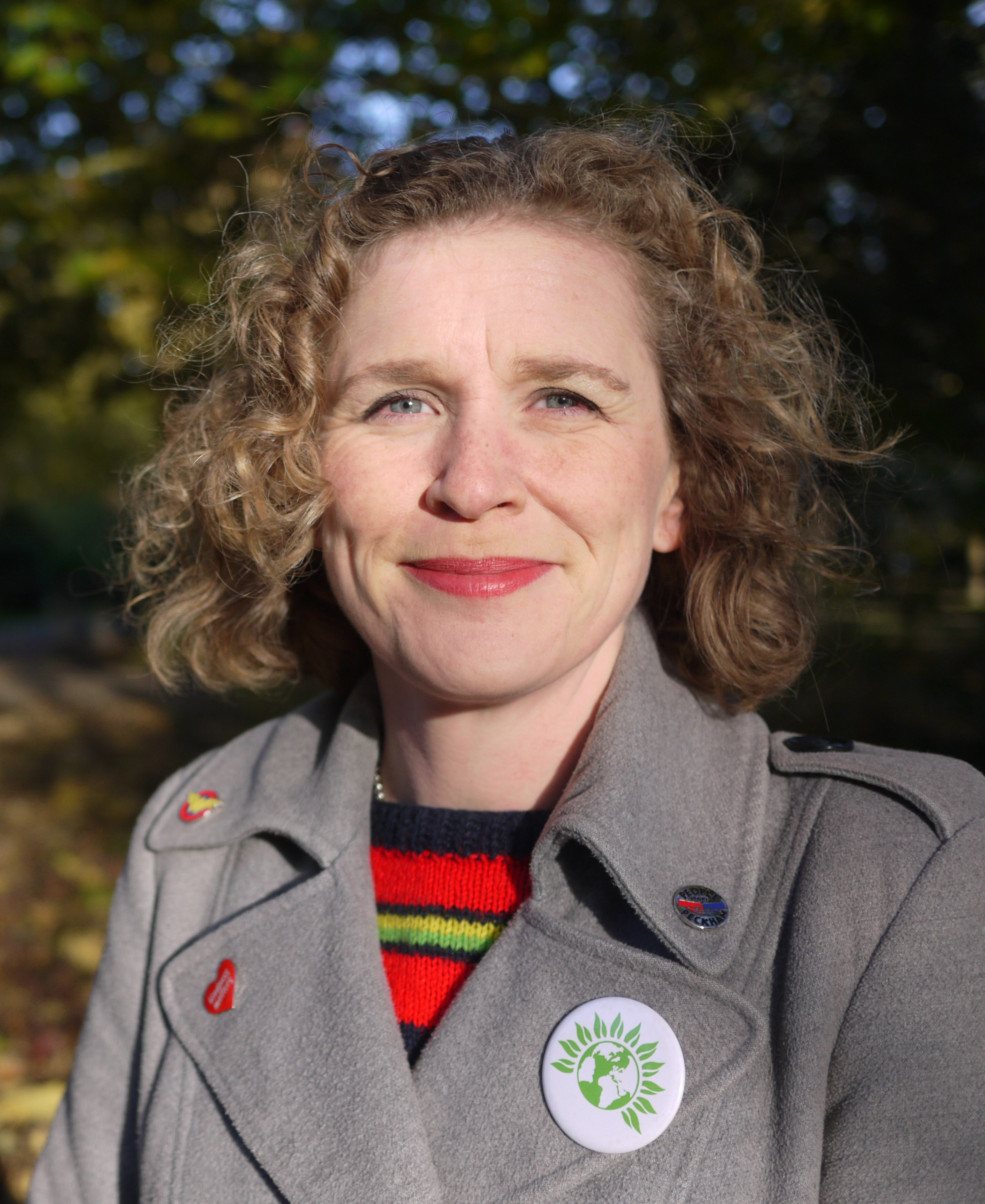 Claire Sheppard at Southwark Green Party