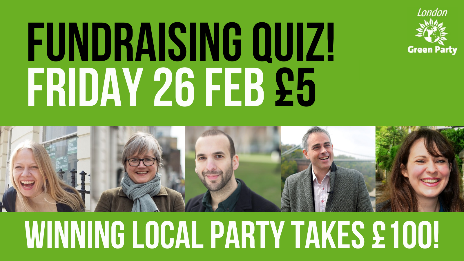 London Green Party Fundraising Quiz