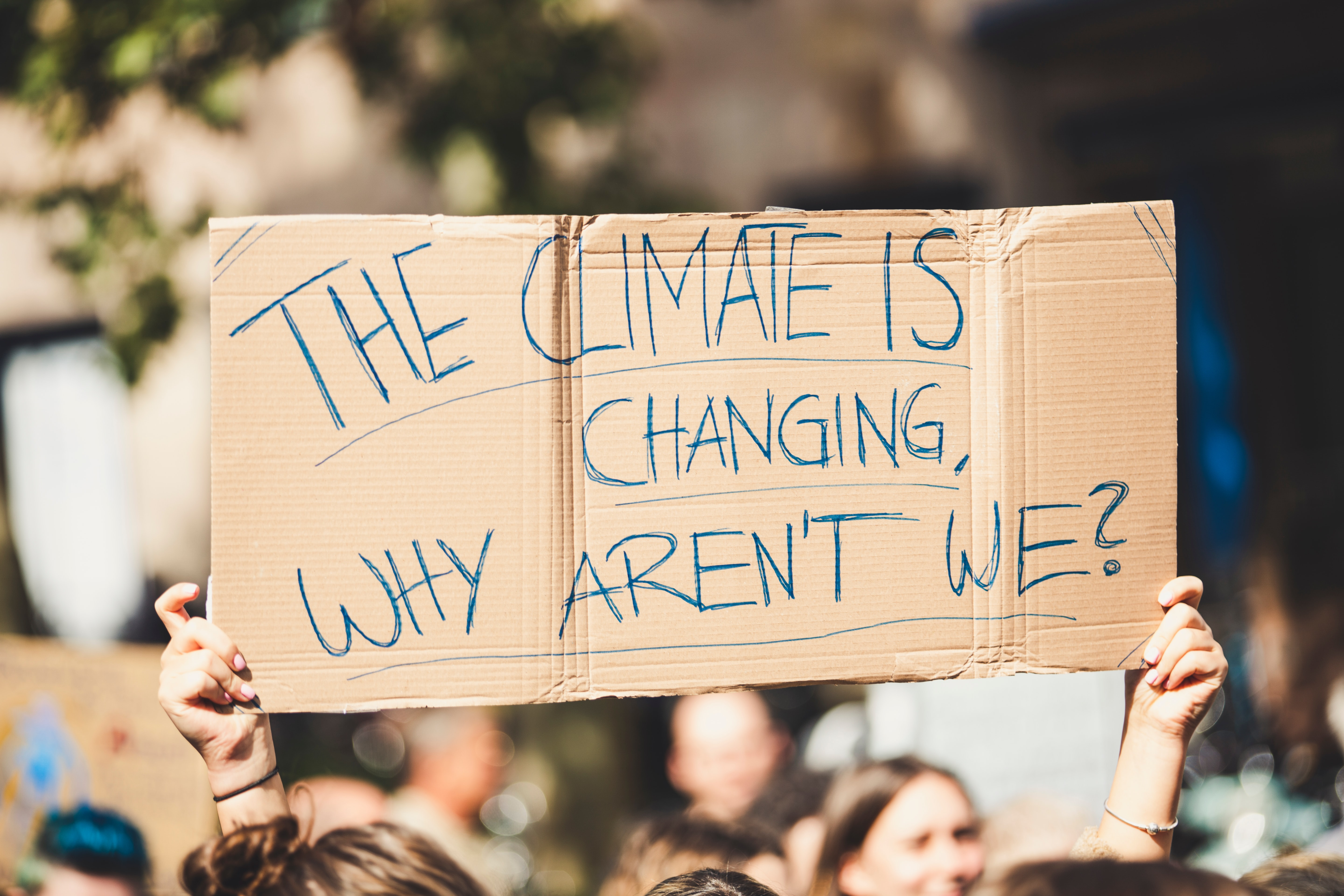 The climate is changing why aren't we?