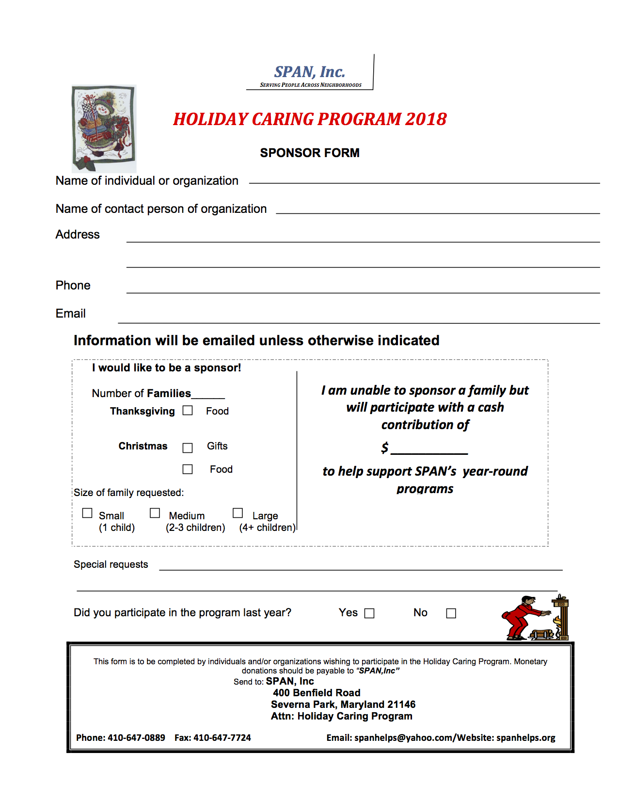 Sign up for Holiday Caring to Help Those in Need Have Better ...