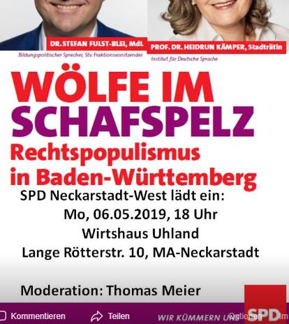Wölfe im Schafspelz? Rechtspopulismus in Baden-Württemberg