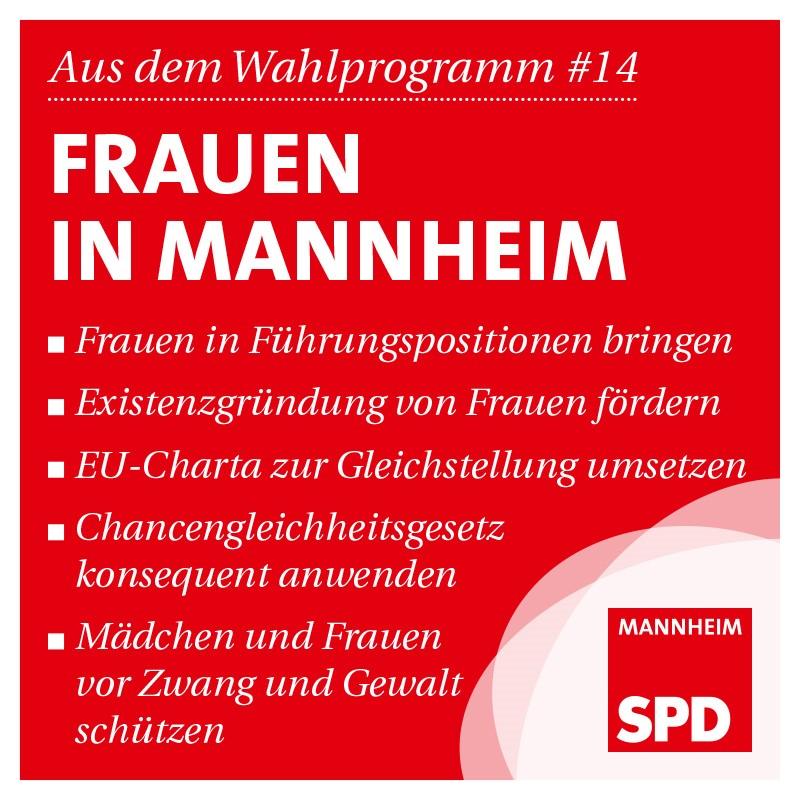Frauen in Mannheim