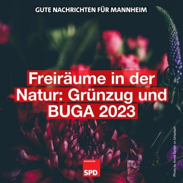 Bundesgartenschau und Grünzug als Klimaverbesserer