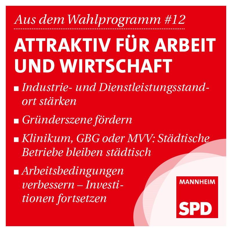 Mannheim: Attraktiv für Arbeit und Wirtschaft