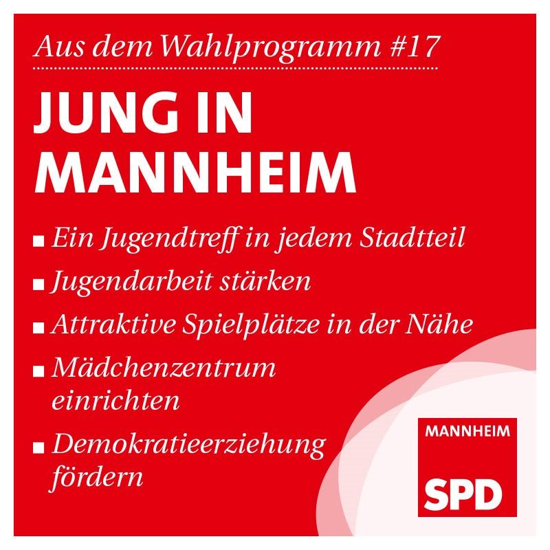 Jung in Mannheim