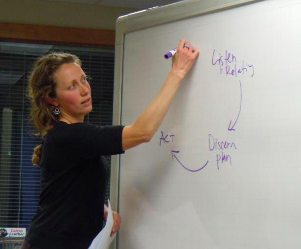 Carol teaching