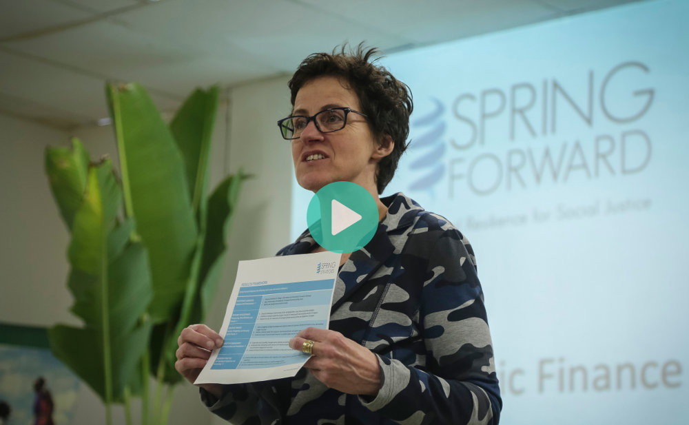 Ellen Sprenger Talks about Financial Resilience Program