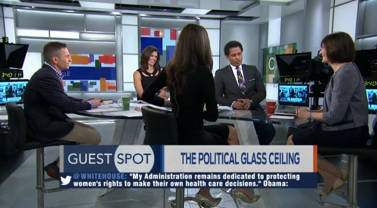 MSNBC's The Cycle: Sandra Fluke on the Political Glass Ceiling