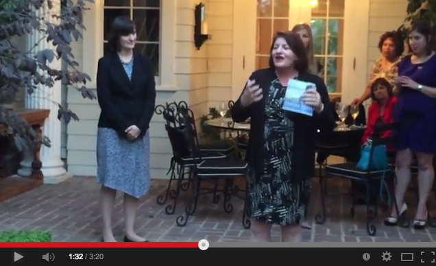 Hear what Speaker Toni Atkins has to say about why she's supporting Sandra Fluke for State Senate!