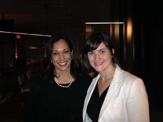 ATTORNEY GENERAL KAMALA HARRIS ENDORSES SANDRA FLUKE