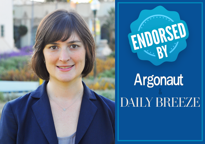 The Daily Breeze, Argonaut Endorse Sandra Fluke for State Senate