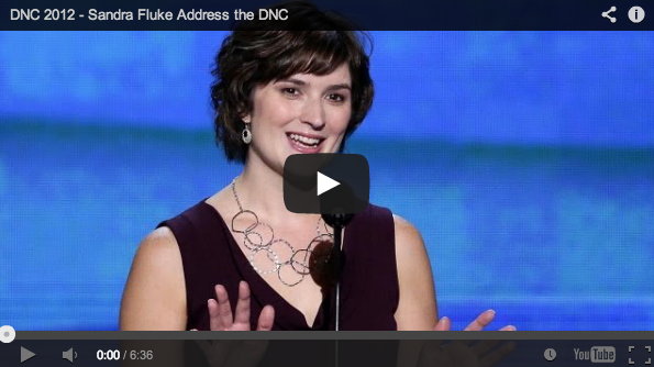 Watch Sandra's Speech at the Democratic National Convention