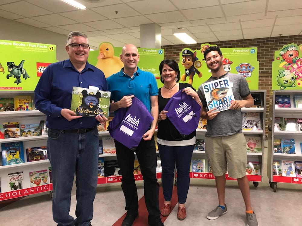 2017 Book Fair Volunteers