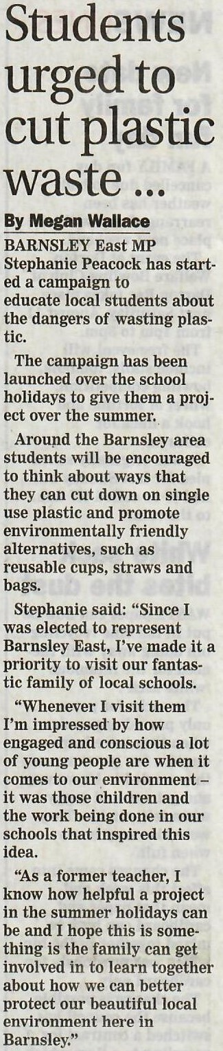 Barnsley_Chronicle_story_on_'Is_Plastic_Fantastic'_campaign.jpg