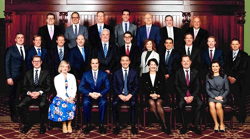 House of Assembly Marshall Liberal Government members