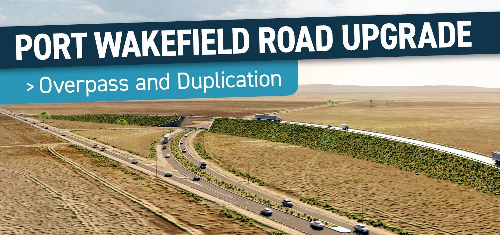 Information session at Port Wakefield on Overpass Project