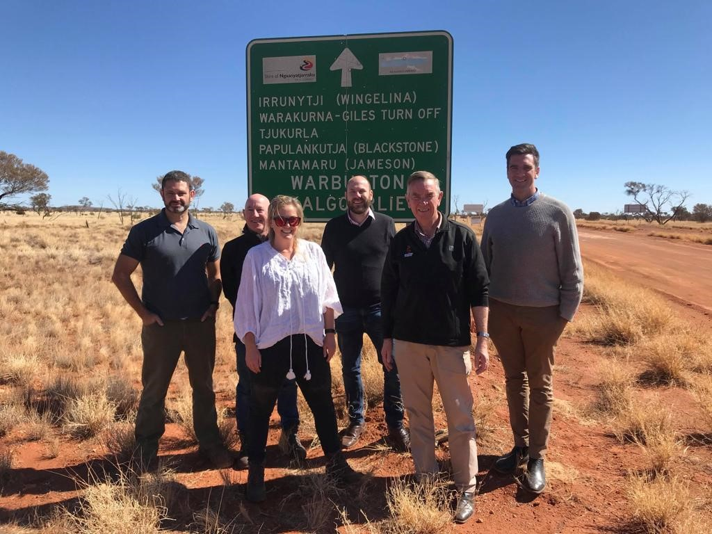 Special trip to APY Lands