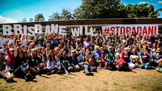 #StopAdani Spell it out