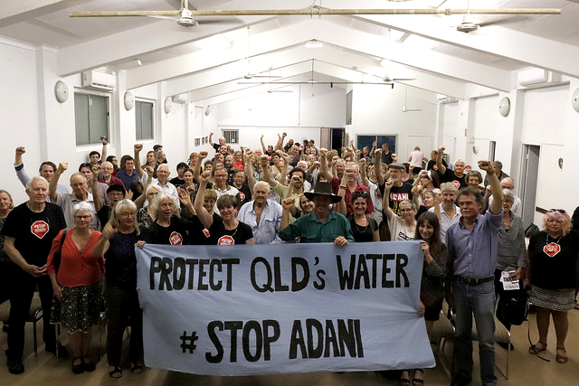 Water is life! Yet Adani's mega coal mine will risk this precious natural resource.