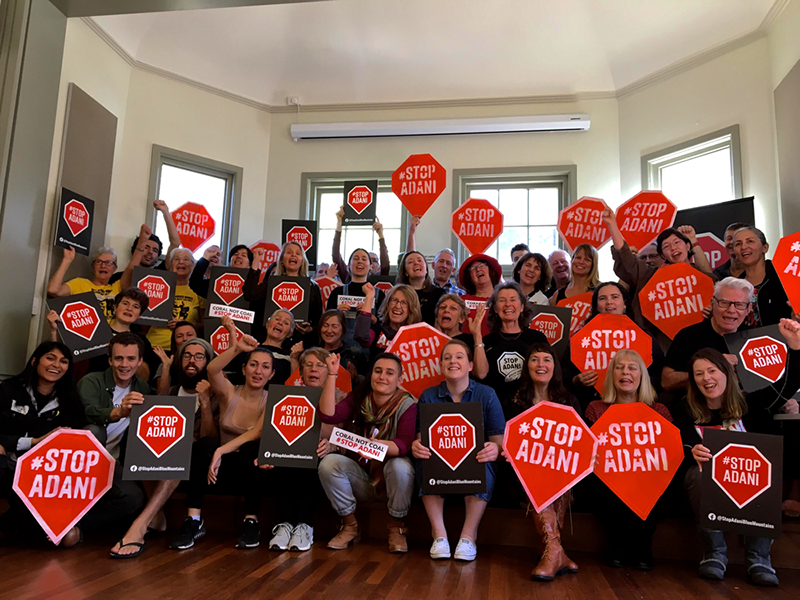 Highlights from the NSW #StopAdani Assembly