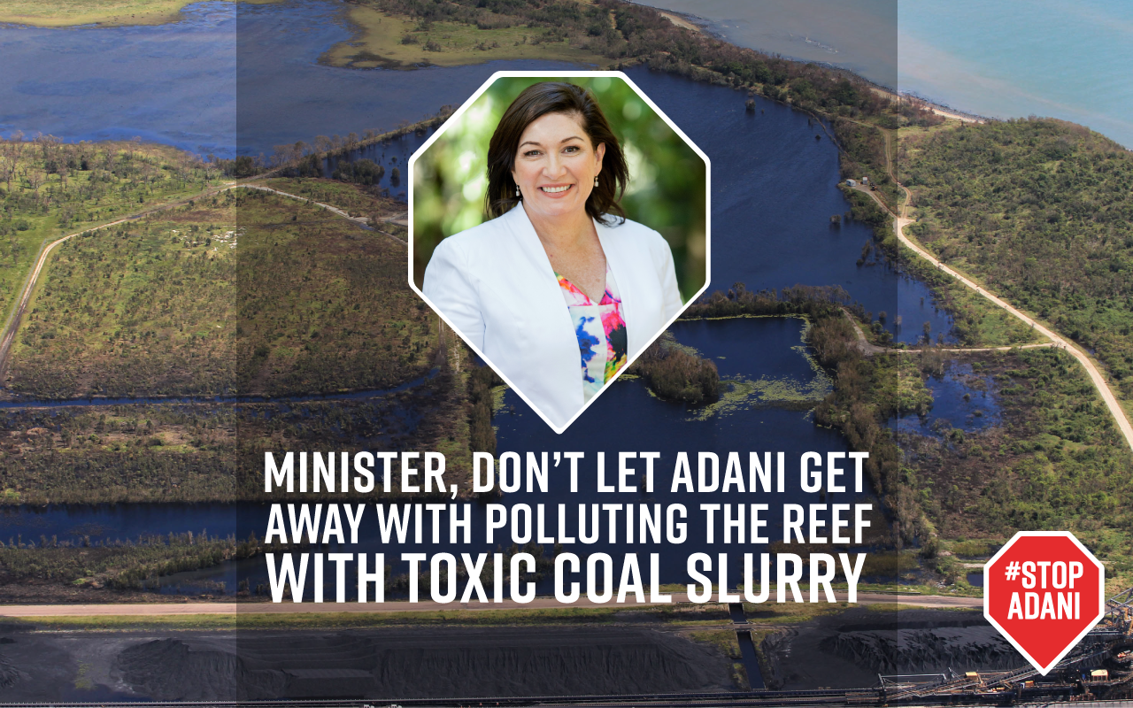 Prosecute Adani for Reef pollution