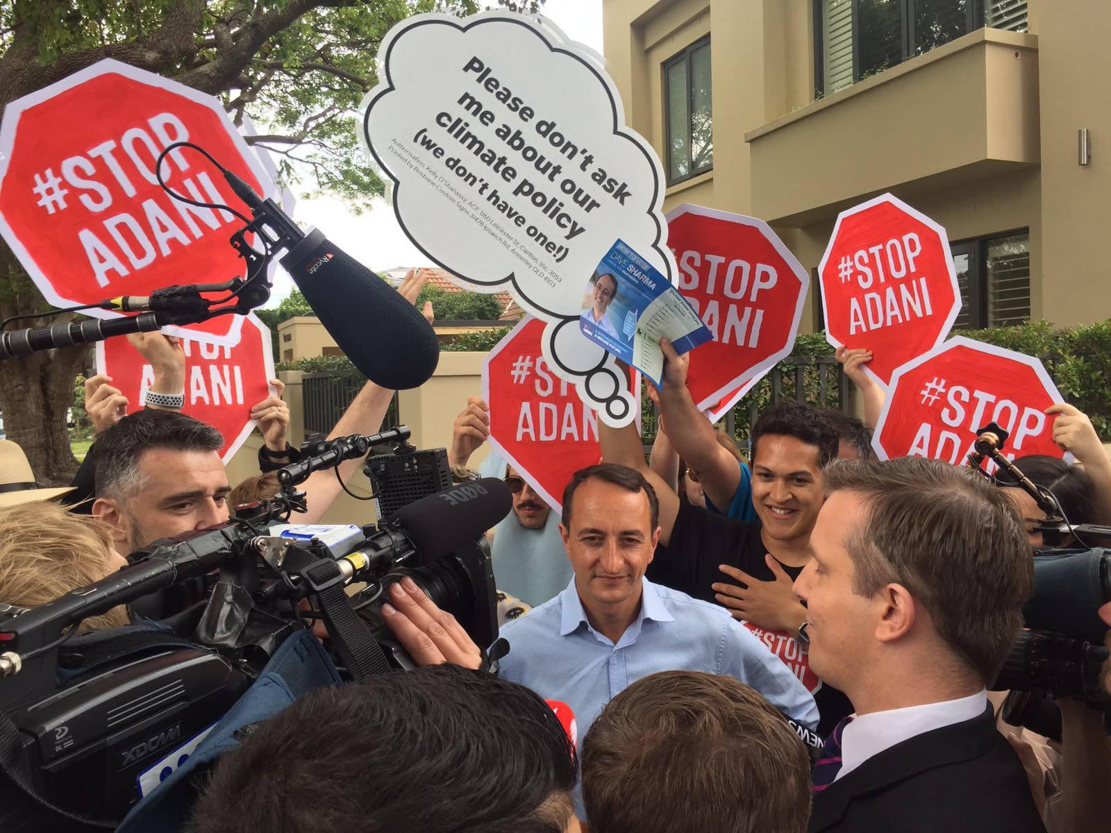Wentworth votes to #StopAdani