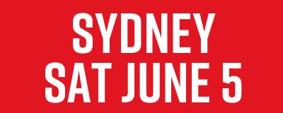 Sydney Sat June 5