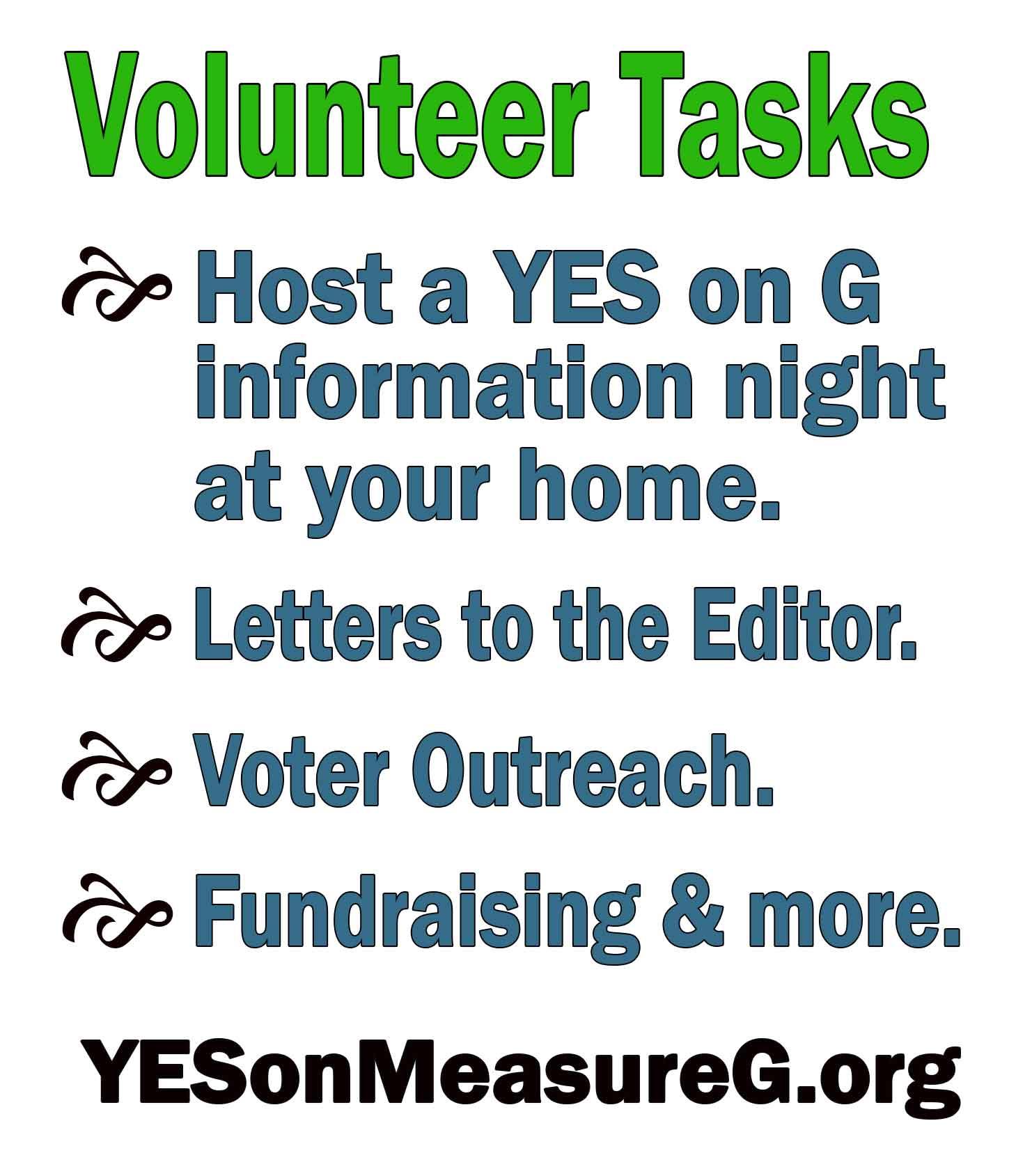 volunteer protect slo county campaign