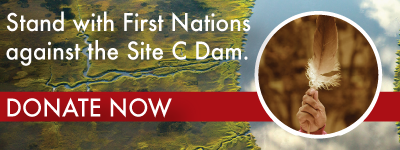 first nations against C-dam