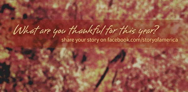 What are you thankful for this year?