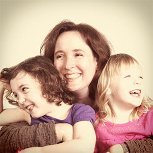 Kay and her daughters