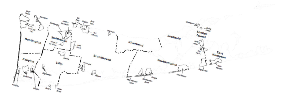 Suffolk County Towns and Villages