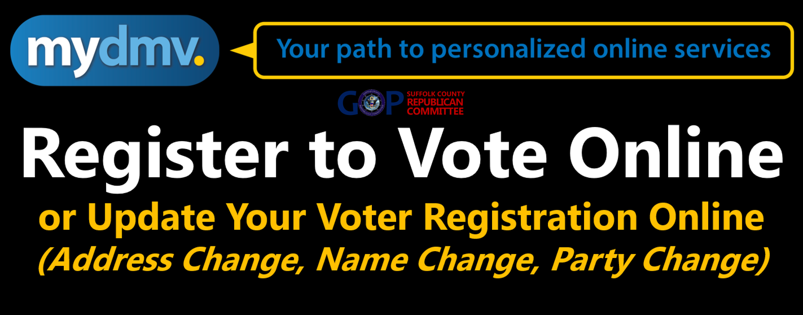 Register to Vote/Update Your Voter Registration Online