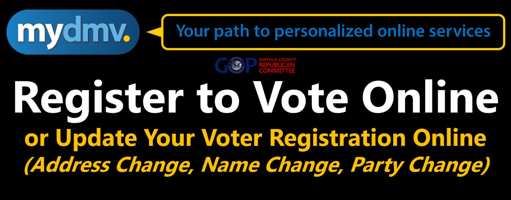 Register to Vote/Update Your Voter Registration Online
