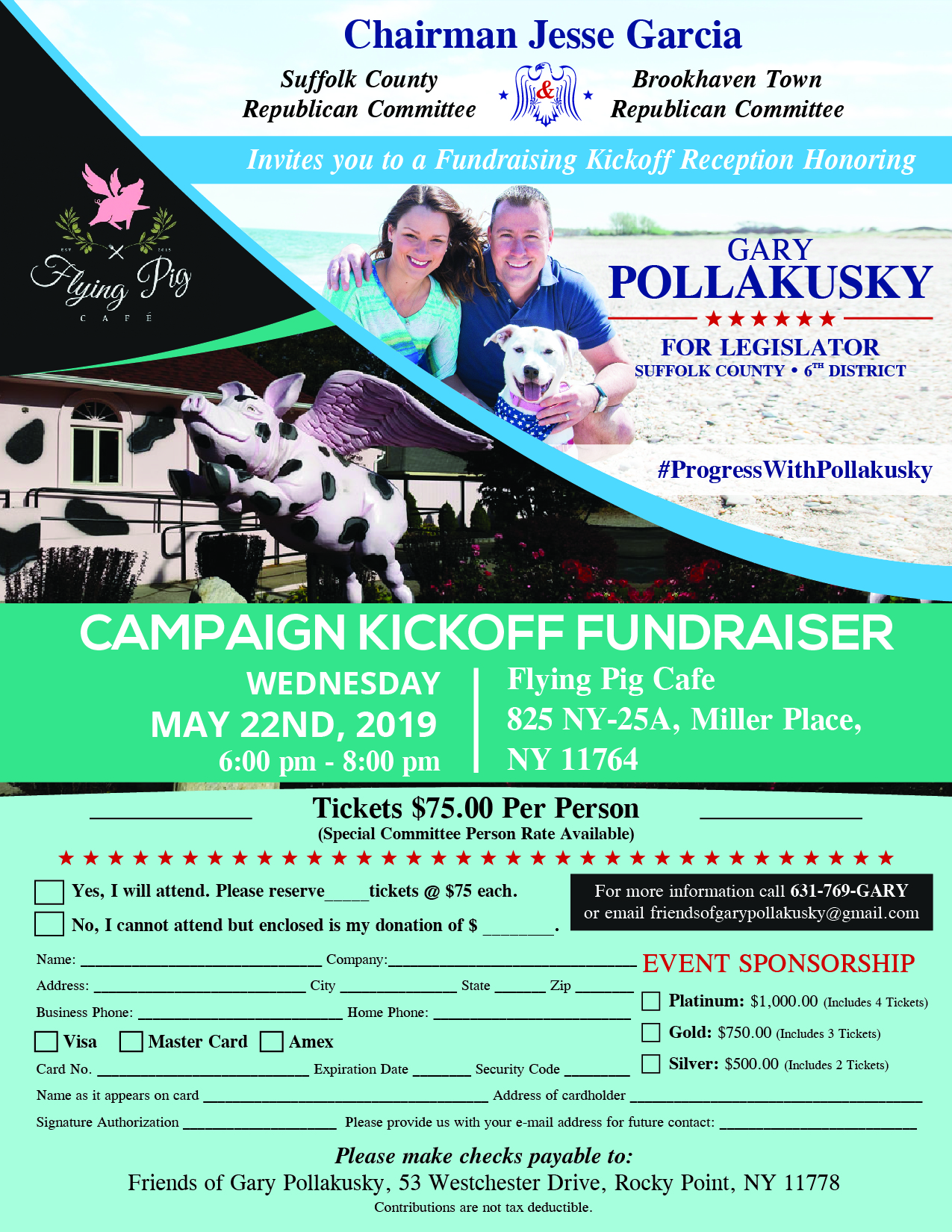 Gary Pollaksky Kickoff Party
