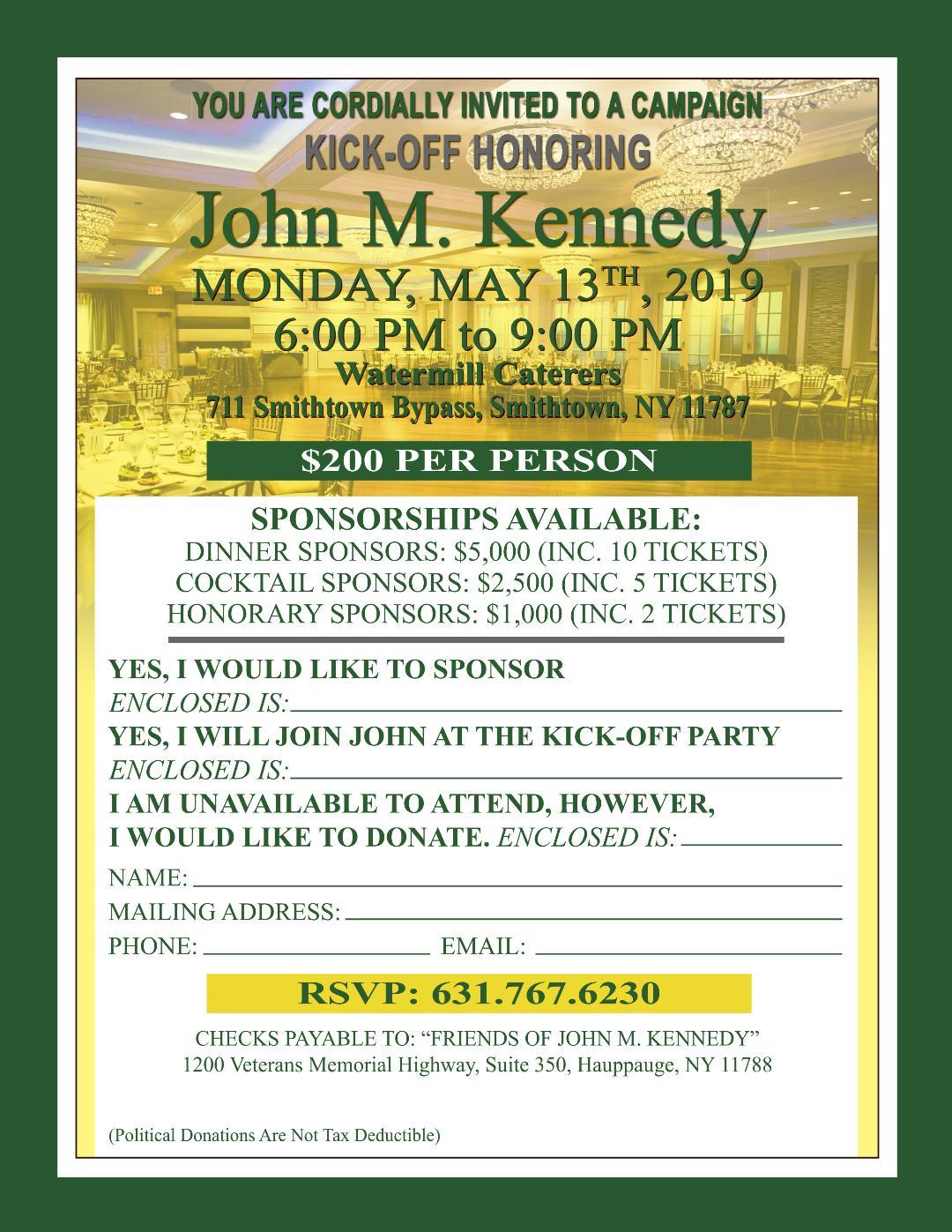 Kennedy Invite
