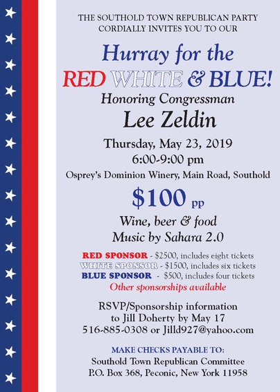 Lee Zeldin honored by Southold