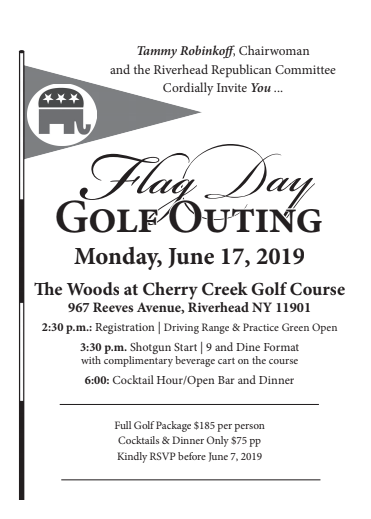 Flag Day Golf Outing