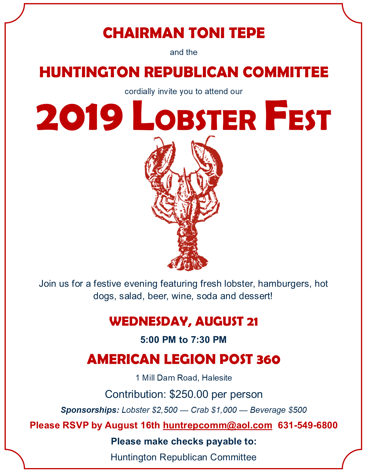 Huntington Lobsterfest