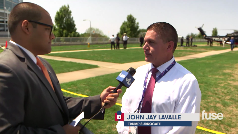 John Jay LaValle at RNC on FUSE TV