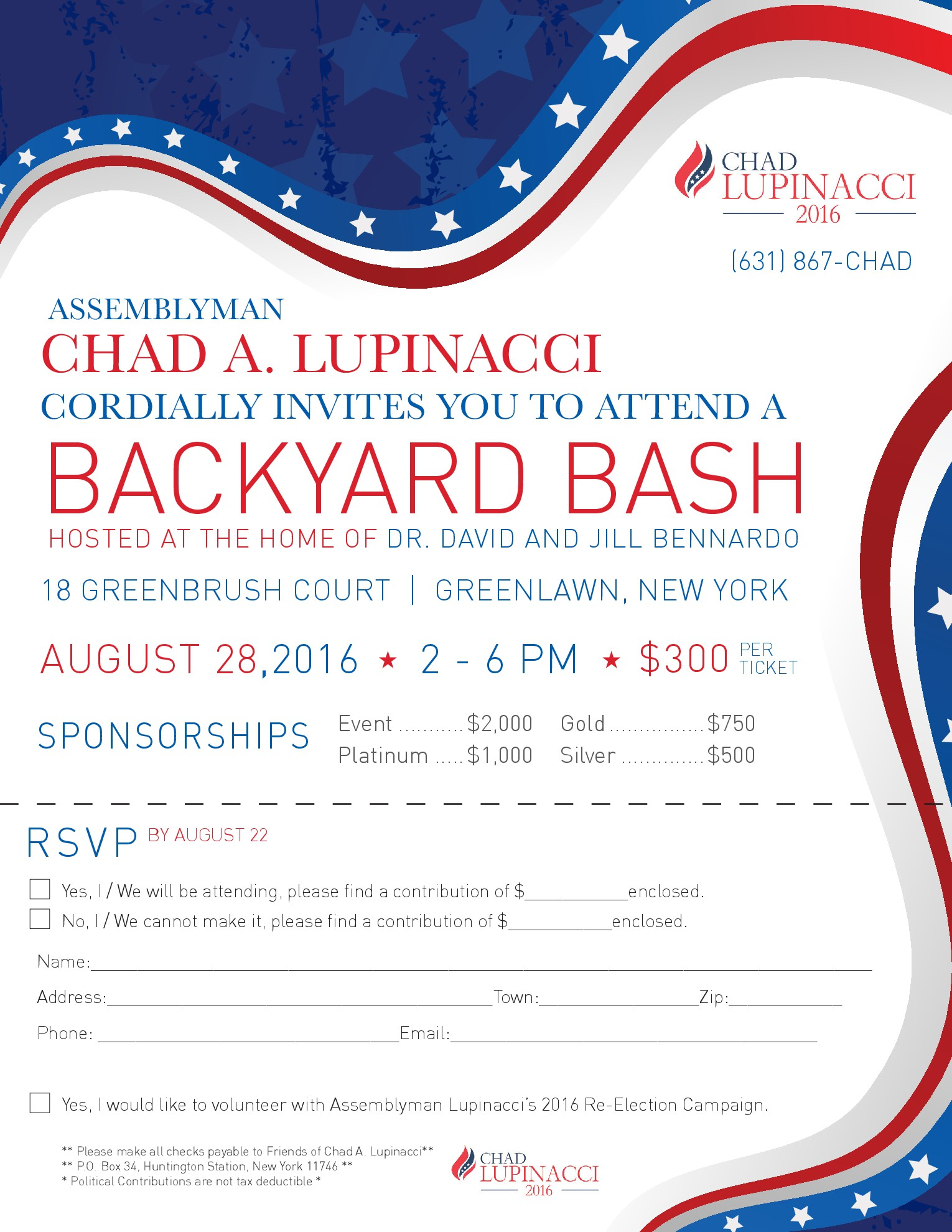 Chad Lupinacci Backyard Bash
