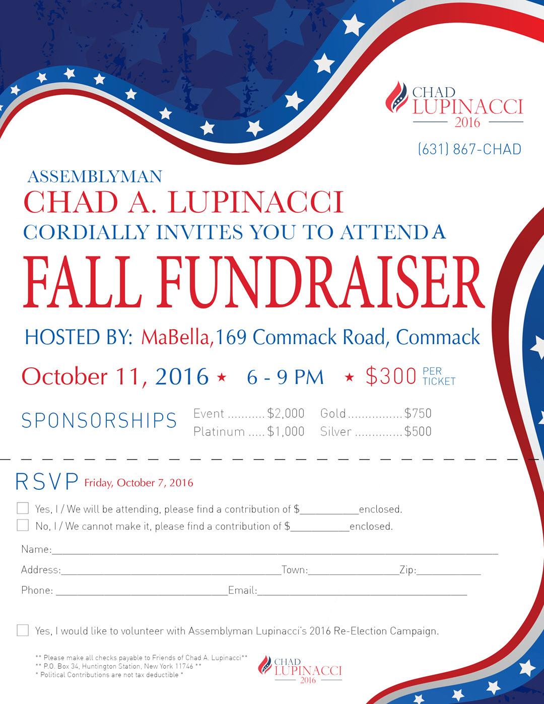 Chad Lupinacci Fall_Fundraiser