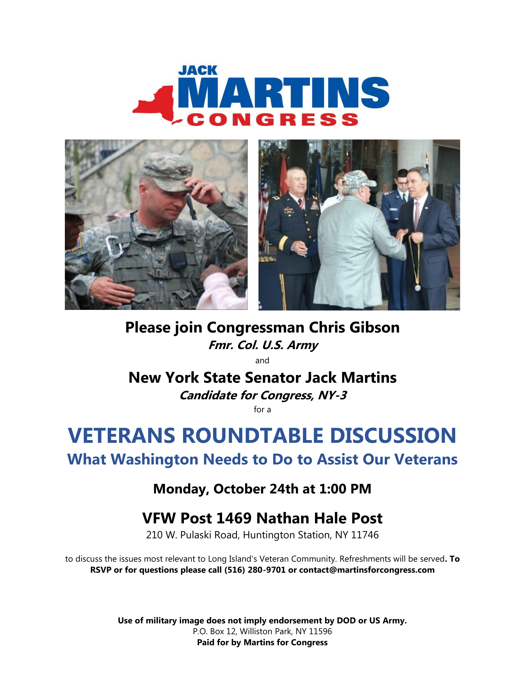 Veterans Roundtable Discussion