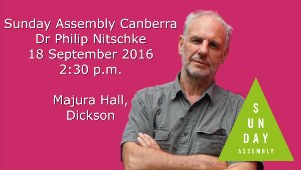 Philip Nitschke at Sunday Assembly Canberra 2016