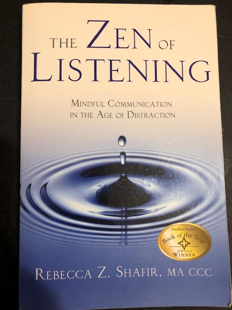 Book cover of The Zen of Listening