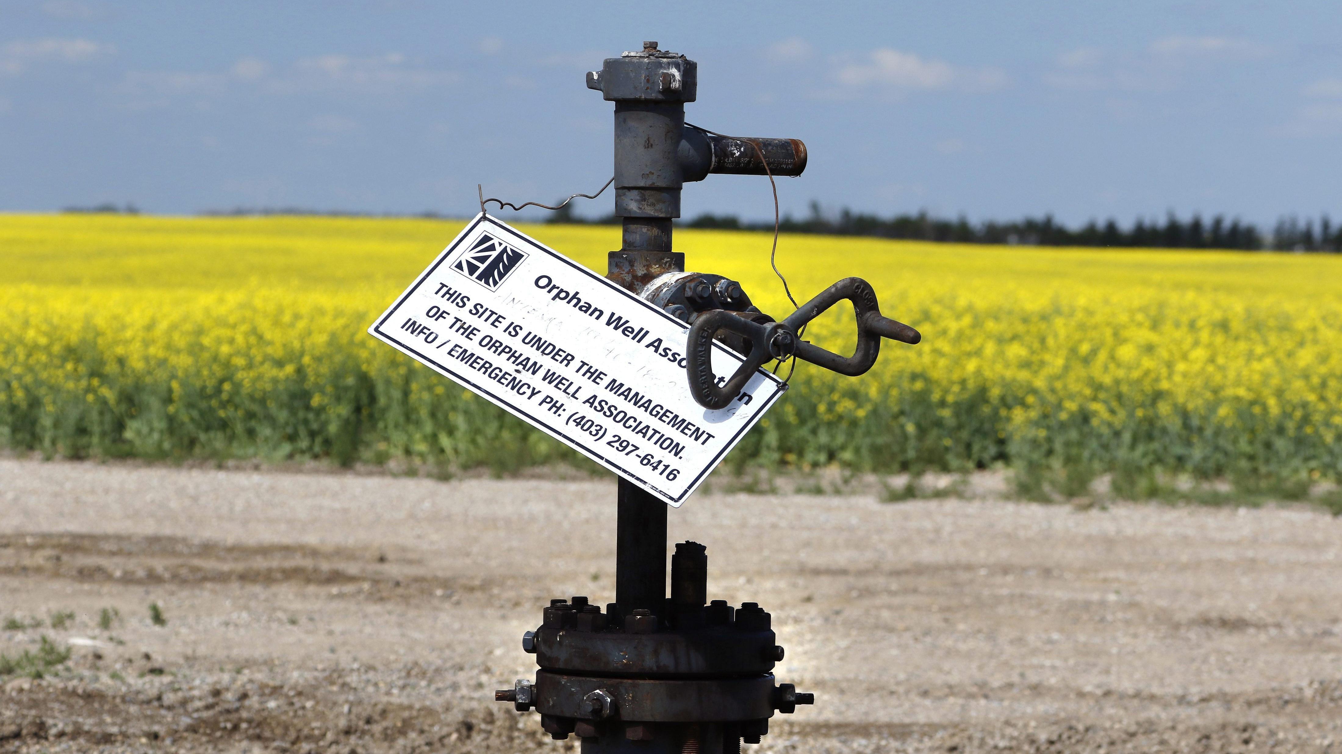 Understanding inactive and orphan wells in Alberta