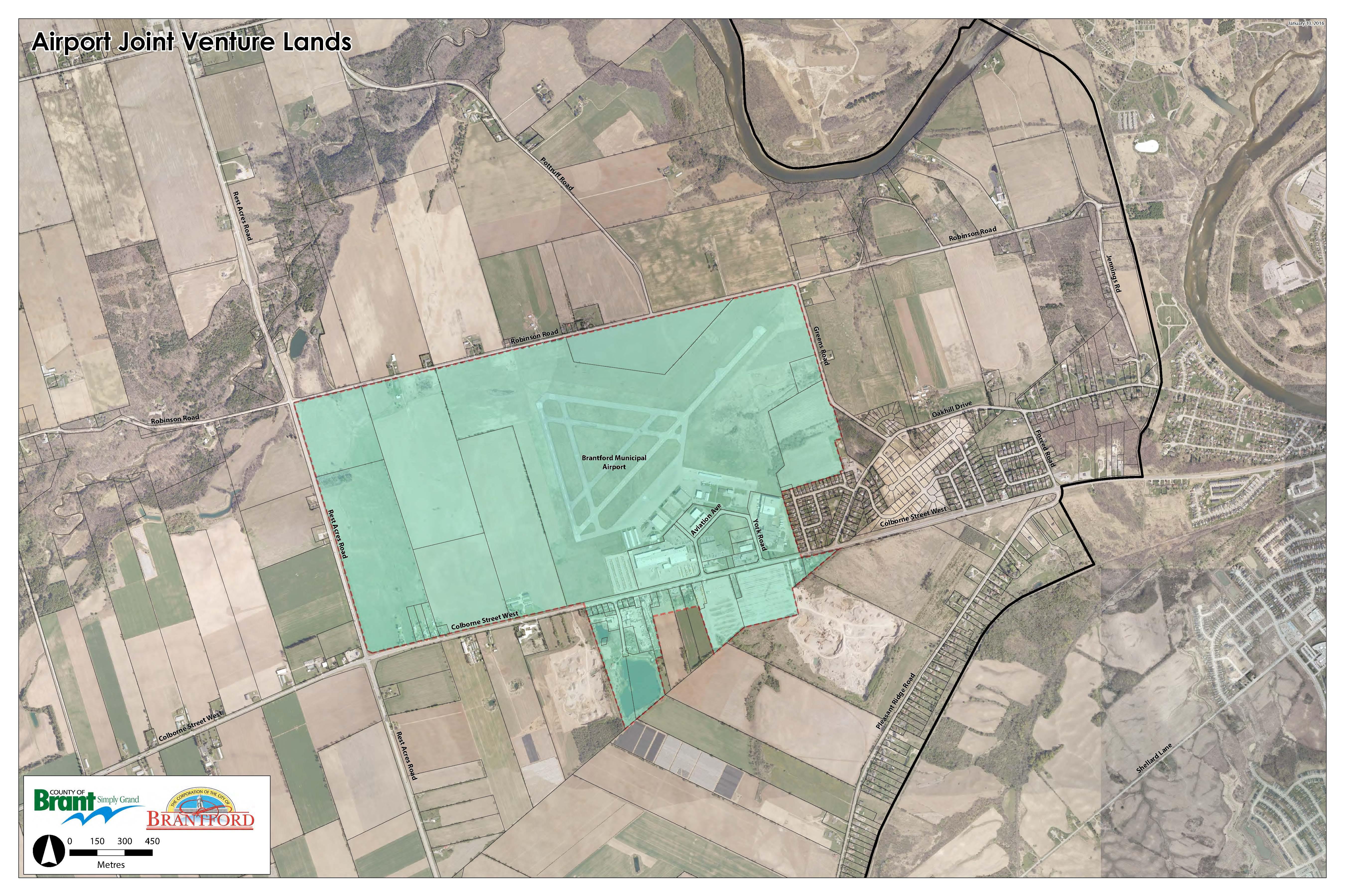 Brantford Boundary Agreement Maps