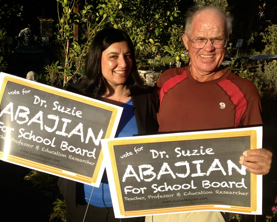 Dr. Suzie Abajian for SPUSD School Board